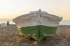 Wooden boat. Royalty Free Stock Images