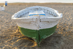Wooden boat. Stock Image