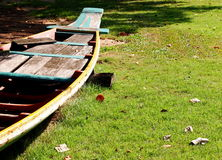 Wooden boat Stock Photography