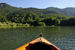 Boat in the wilderness Stock Photography