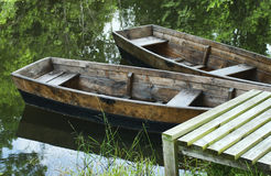 Wooden boats Stock Photo
