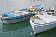 Wooden boats Stock Photos