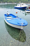 Wooden boats on sea Royalty Free Stock Photo