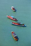 Wooden boats in the sea Royalty Free Stock Image
