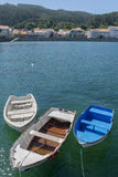Wooden boats. Stock Images