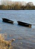 Wooden boats Stock Photos