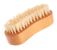 Wooden body brush Royalty Free Stock Photo