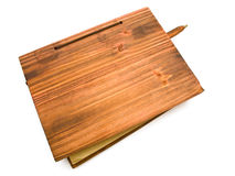 Wooden book Royalty Free Stock Photos