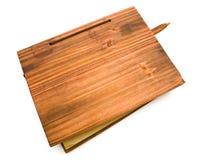 Wooden book Royalty Free Stock Photos