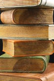 Wooden Book ends Stock Images