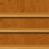 Wooden Book Shelf Stock Image