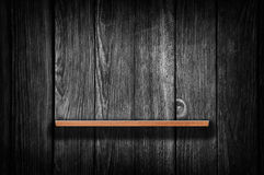 Wooden book shelf Royalty Free Stock Photography