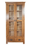 Wooden bookcase Royalty Free Stock Image