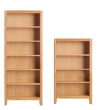 Wooden bookcase  Royalty Free Stock Photography