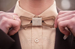 Free Wooden Bow Tie Stock Photo - 50714380
