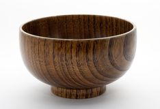 Wooden bowl Royalty Free Stock Photo
