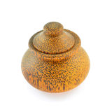 Wooden bowl Stock Images