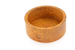 Wooden bowl Stock Image