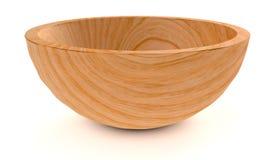 Wooden bowl Royalty Free Stock Photos
