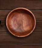 Wooden bowl. Royalty Free Stock Photos