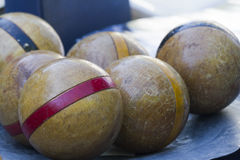 Wooden bowls Royalty Free Stock Photos