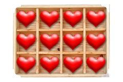 Wooden box Royalty Free Stock Photography
