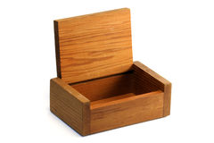 Wooden box Stock Photos