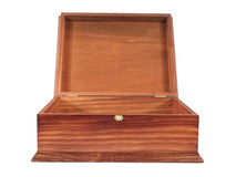 Wooden box Royalty Free Stock Images