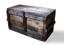 Wooden box Royalty Free Stock Photos