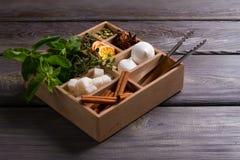 Wooden box. Stock Photos