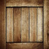 Wooden box background Royalty Free Stock Image