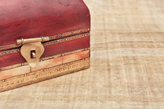 Wooden box Stock Photo