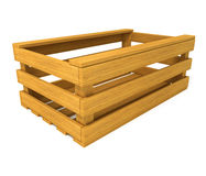Wooden box for fruits and vegetables Stock Photography