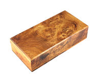 Wooden box (Myanmar style) Stock Photos