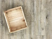 Wooden Box Royalty Free Stock Photo