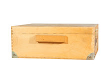 Wooden box for transport Stock Images