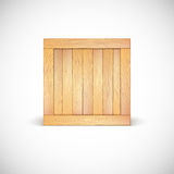 Wooden box stock illustration