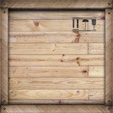 Wooden box,Wooden texture background Royalty Free Stock Image