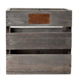 Wooden box for your product Royalty Free Stock Photo