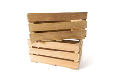 Wooden boxes Royalty Free Stock Photography