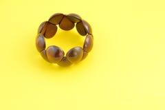 Wooden bracelet Stock Photography
