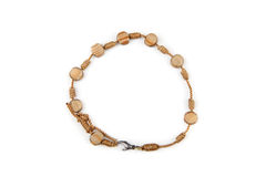 Wooden bracelet Stock Photo