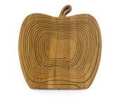 Wooden breadbasket Stock Image
