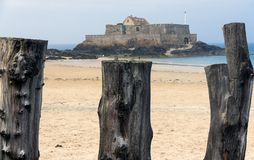 France. Brittany. Saint-Malo Stock Photo