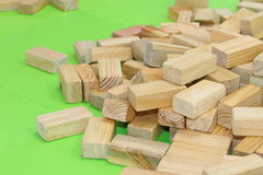 Wooden Bricks Stock Photos