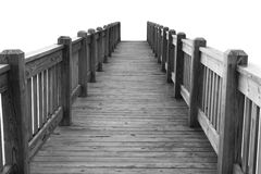 Wooden Bridge Stock Image