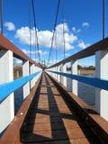 Wooden bridge Royalty Free Stock Photography
