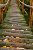 Wooden bridge Stock Photography