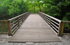 Free Wooden Bridge Royalty Free Stock Photos - 28808458
