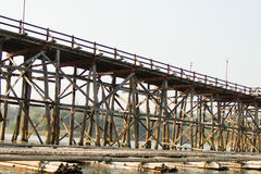 Wooden Bridge Stock Images